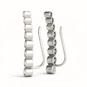 Diamond Climbing Earrings Set