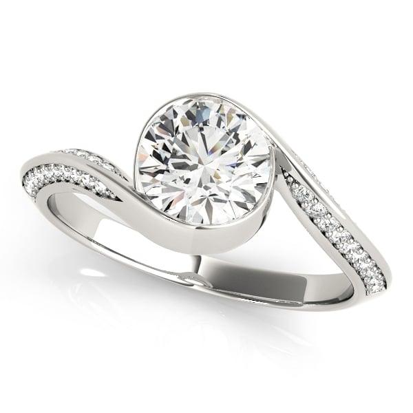 Brilliant Cut Diamond Engagement Ring