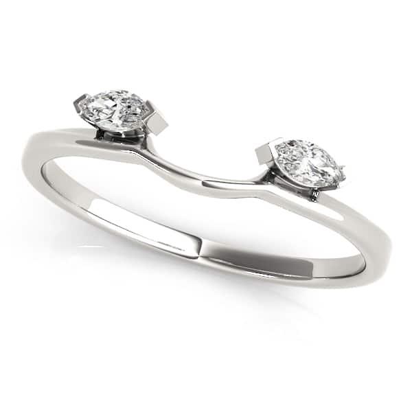Platinum Diamond Wrap Ring