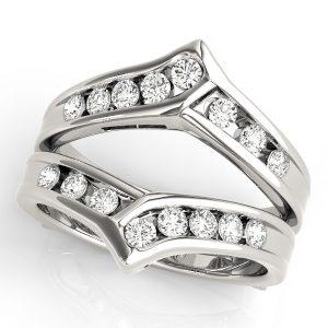 Diamond Insert multi shank Rings