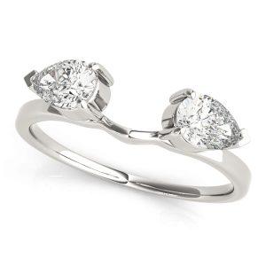 Oval Diamond Wrap Ring