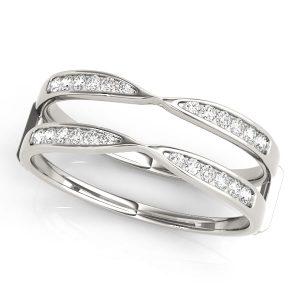 Diamond Insert multi shank Ring