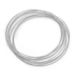 10 Thin Bangle Bracelet Set