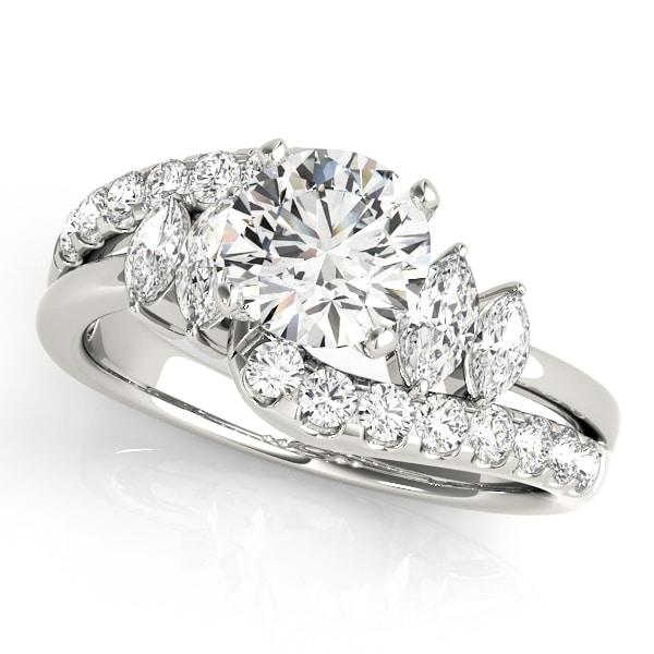 fancy diamond ring upper look