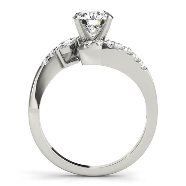 plain look diamond ring