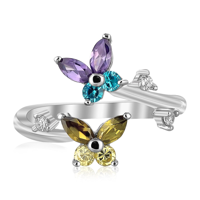 Floral Toe Rings